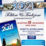 Presentazione del Calendario 2021 – 8 dicembre diretta facebook